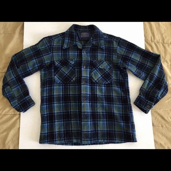 Pendleton Other - PENDLETON Virgin Wool Plaid Board Shirt Sz Med